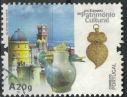 Portugal 2018 Oblitéré Used Année Européenne Du Patrimoine Culturel Poterie Bijoux SU - 1910-... République