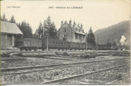 Station Du LIORAN (train De Voyageur En Gare) - Saint-Mamet-la-Salvetat