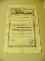CERTIFICAT DE BONNE CONDUITE  8 EME REGIMENT DE LIGNE 1924 - Diplomas Y Calificaciones Escolares