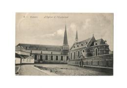 Hamme   L'Eglise Et L'Orphelinat (1918). - Hamme