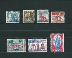 Zegels 1082 - 1088 Gestempeld - Belgien