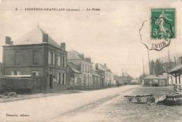 80 Ligneres Chatelain La Poste PTT - France