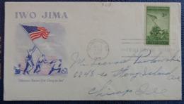 FDC, WAR II, IWO JIMA, WASHINGTON D.C. 1945 - Washington DC