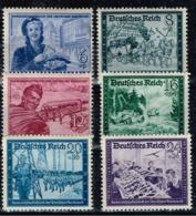 DR 1944,Michel# 888 - 893 ** - Unused Stamps