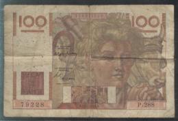 Billet 100 Francs France Jeune Paysan 22-1-1949 B - 1871-1952 Antichi Franchi Circolanti Nel XX Secolo