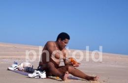 1997 EUSEBIO JOGADOR SLB BENFICA SOCCER MOÇAMBIQUE AFRICA AFRIQUE 35mm PRESS DIAPOSITIVE SLIDE Not PHOTO No FOTO B4924 - Dias