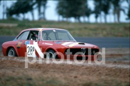 1997 ALFA ROMEO GTV CAR RACING AUTODROMO MOÇAMBIQUE AFRICA AFRIQUE 35mm PRESS DIAPOSITIVE SLIDE Not PHOTO No FOTO B4924 - Dias