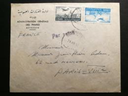 Liban.Enveloppe De Beyrouth Pour Paris - Lebanon