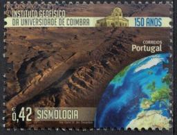 Portugal 2014 Oblitéré Used Institut De Géophysique De L'Université De Coimbra Sismologie SU - 1910-... République