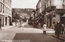 Liguria - Imperia - Bordighera  V.ie R. Elena E Corso V. Emanuele - - Imperia