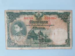 THAILAND-20 BAHT 1939 - Thailand