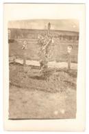 CPP 128 - CARTE PHOTO - MILITARIA - Cimetiere De BRECY - Tombes Des Soldats GROLIER Et LAPORTE Du 102e RAL - France