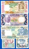 Sierra  Leones  5  Billets - Sierra Leone