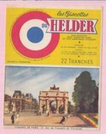 Buvard Biscottes HELDER Arc De Triomphe Du Carroussel 19 - Biscottes