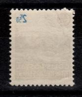 Variete Colis Postaux - YV 179 N** Avec Impression Recto Verso De La Valeur - Neufs