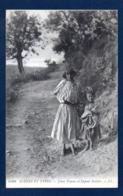 Algérie. Jeune Femme Kabyle Et Son Enfant. - Vrouwen