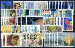 LOTTO ITALIA ALTI VALORI USATI REPUBBLICA - Lotti E Collezioni