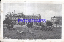 124134 CHILE PUNTA ARENAS BANK BANCO ANGLO SUD AMERICANO SPOTTED  POSTAL POSTCARD - Cile