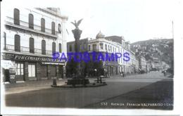 124136 CHILE VALPARAISO AVENIDA FRANCIA POSTAL POSTCARD - Cile