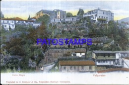 124138 CHILE VALPARAISO CERRO ALEGRE VISTA PARCIAL POSTAL POSTCARD - Cile
