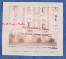4 Photos Anciennes - RIAILLé - Château D'Ancenis Les Bois - Partie De Chasse - Décembre 1896 - Noblesse - Anciennes (Av. 1900)