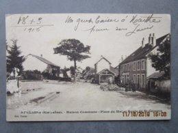 CPA 70 Haute Saône ATHESANS Etroitefontaine Vers Villersexel - Maison Commune Place Du Mai Et Route De St Georges 1916 - France