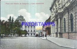 124146 BOLIVIA PLAZA CON PALACIO DE GOBIERNO Y CASA CONSISTORIAL POSTAL POSTCARD - Bolivia