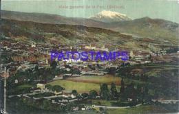 124147 BOLIVIA LA PAZ VISTA GENERAL POSTAL POSTCARD - Bolivia