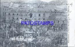 124149 BOLIVIA LA PAZ MONUMENTO Y PLAZA MURILLO POSTAL POSTCARD - Bolivia