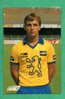 Football Stephane Paille Avant Centre Et Entraineur - Football