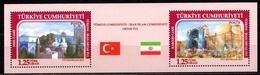 2015 TURKEY IRAN JOINT ISSUE STAMP MNH ** - 1921-... Repubblica