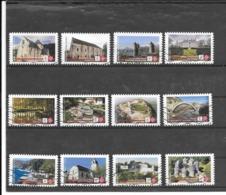 FRANCE 2019   BERN  SERIE COMPLETE DE 12 TIMBRES AUTOADHESIFS OBLITERES - Adhésifs (autocollants)