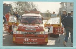 Rallye Automobile :  Austin Metro MG Metro 6 R4 De Didier Auriol Rallye Vosges Alsace 1986 - Rally
