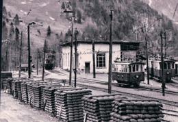 Suisse Chemin De Fer Stansstad-Engelberg Bahn, Train à Obermatt NW, Photo 1963 BVA StEB 26.8 - Stations With Trains