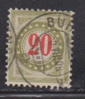 SWITZERLAND Scott # J25 Used - Postage Due - Taxe