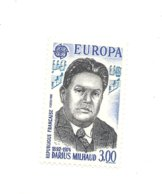 Timbre : 1985 EUROPA CEPT DARIUS MILHAUD 1892-1974 2367 1985 Neuf** - Collections