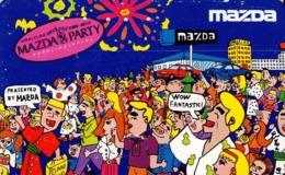 JAPON. MAZDA PARTY. JP-110-011 C. (159) - Japón