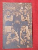RPPC  Basketball Sligo Pa  1916-17 Ref 3721 - Basketball