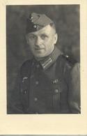 Foto Deutscher Soldat 2. WK Porträt, Ca. 1940 - Krieg, Militär