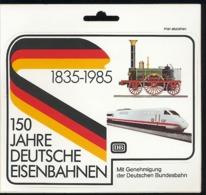Aufkleber 150 Jahre Deutsche Eisenbahnen 1835-1985 Deutsche Bahn - Aufkleber