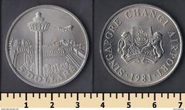 Singapore 5 Dollars 1981 - Singapur
