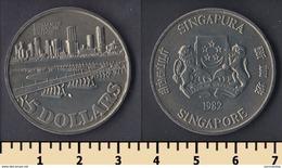 Singapore 5 Dollars 1982 - Singapur