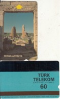 TURKEY - Perge Ruins/Antalya(60 Units), Used - Turchia