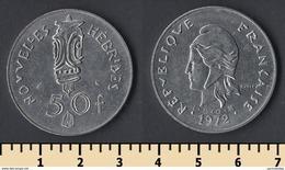 New Hebrides 50 Francs 1972 - Coins