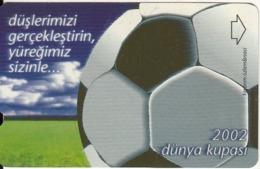 TURKEY - Football(30 Units), 06/02, Used - Turchia