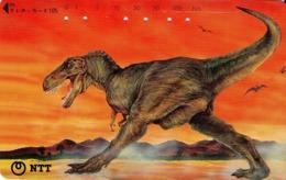 JAPON. DINOSAURIOS. Tyrannosaurus Rex. 10/1993. JP-291-241 B. (112) - Japón