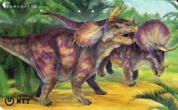 JAPON. DINOSAURIOS. Triceratops. 10/1993. JP-291-242 B. (113) - Japón