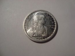 MONNAIE INDOCHINE 10 CENTIMES 1945 - Colonies