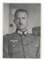 Foto Deutscher Soldat 2. WK Porträt, Ca. 1939, Wehrmacht - Krieg, Militär