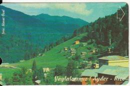 TURKEY - Yaylalarimiz/Ayder-Rize(30 Units), 06/00, Used - Turchia